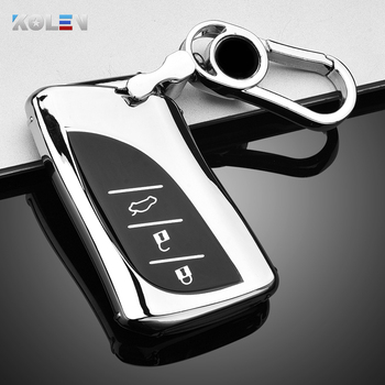 New Soft TPU Car Remote Key Case Cover Holder Shell Fob For Lexus NX ES UX US RC LX GX IS GS RX 200 250h 350h LS 450h 260h 300h image