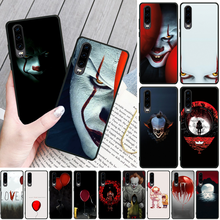 OFFeier Stephen King s It pennywise Phone Case for Huawei P9 10 lite P20 pro lite P30 pro lite Psmart mate 20 pro lite king stephen it