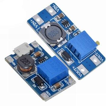 MT3608 DC-DC boost module 2A board input voltage 2-24V rise 5/9/12 -28V adjustable - sale item Active Components