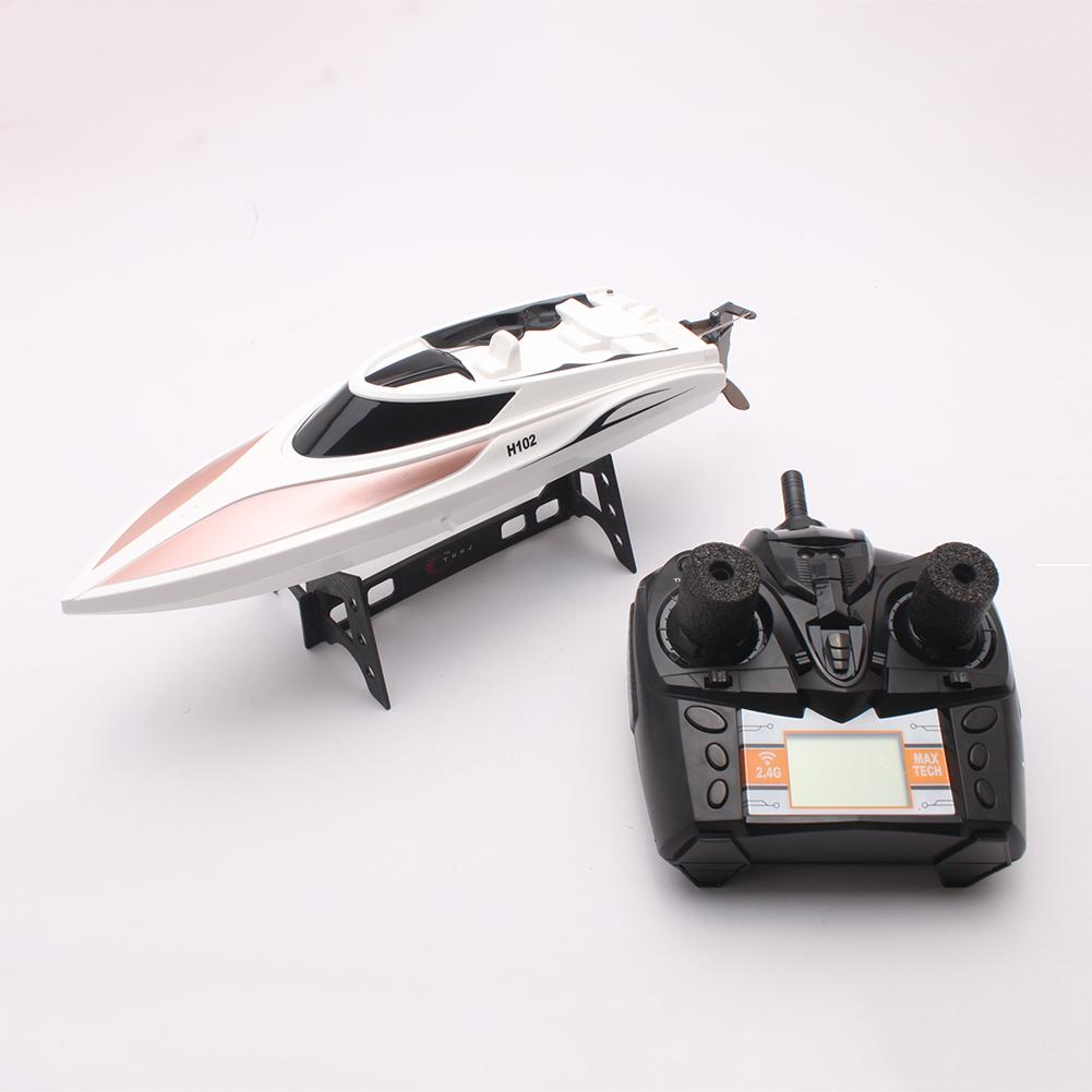 2.4GHz 26km/h RC Electric Racing Boat High Speed 180 Degree Flipping Kids Toy