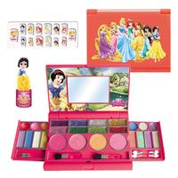 Disney Princess Toy Frozen Children's Cosmetics Girls Toys Fashionable Notebook Makeup Box Play House Toys For Girls