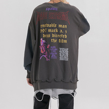 Cooo Coll 19FW Men Women Sweatshirt Hip Hop Streetwear Dyeing water retro Tops Long Sleeve Kanye West Casual Funny Hoodies