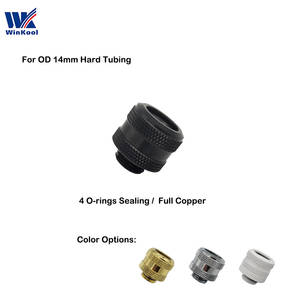 Hard-Tubing Sealing Compression-Fitting Water-Cooling-G1/4-Winkool Multi-Link-Adapter