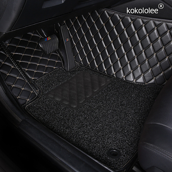 Custom Car Floor Mats for BMW e36 e39 e46 e60 e90 f10 F15 F16 f30 x1 x3 x4 x5 x6 1/2/3/4/5/6/7 foot mats car accessories styling image
