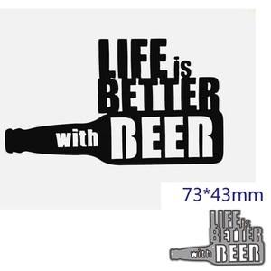 metal cutting dies cut die mold beer decoration Scrapbook paper craft knife mould blade punch stencils dies