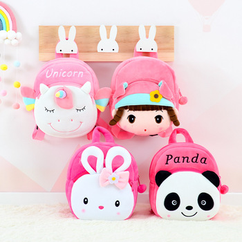kawaii cute plush backpack metoo doll soft cartoon animal stuffed toy for girl kid children school shoulder bag for kindergarten Plush Backpack Kawaii Doll Soft Toy For Girl Baby Cute Cartoon Stuffed Animals For Kid Child School Shoulder Bag In Kindergarten