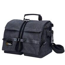 Địa Lý Quốc Gia Chụp Ảnh Túi Ng W2140 Canon SLR 1 Vai Túi Đựng Máy Ảnh Nikon Nhiếp Ảnh Kỹ Thuật Số Túi