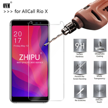 25 Pcs Tempered Glass For Allcall Rio X MTK6580 Glass Screen Protector 2.5D 9H Tempered Glass For Allcall Rio X Protective Film
