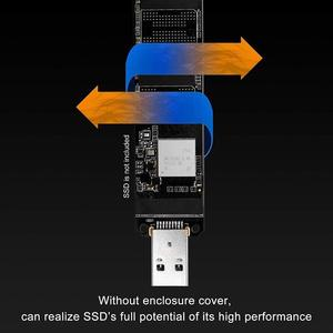 Image 5 - M.2 nvme ssd usb 3.1アダプタ高速検索とのバックアップデータpci e usbタイプa 3.0内部コンバータカード