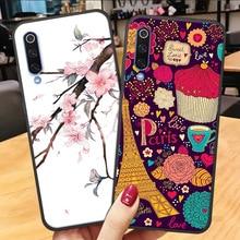 ALLOPUT Case For Mi9t Mi9 SE Xiaomi Mi 9 9T 3D Emboss Matte Cover T Back Phone