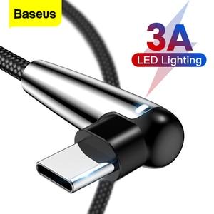 Baseus LED Light USB C Cable 9