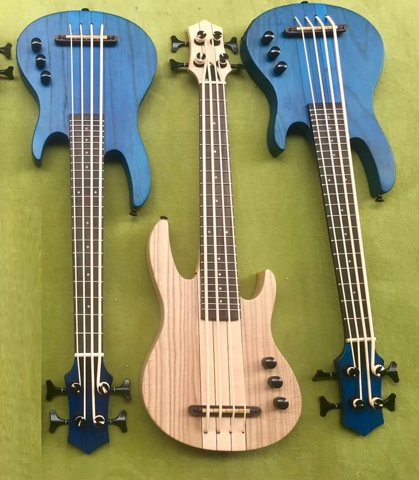 Factory Made Neck Through Ukulele Bass Guitar