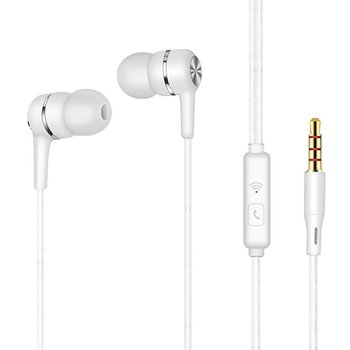 Simple Universal In-ear Inline Computer Phone With Wheat Headset Wire Headset Bluetooth Earphone V4.2 Stereo anti skid in ear music headphone nylon wired earphone with braided wiring cord cable wire control subwoofer headset with wheat