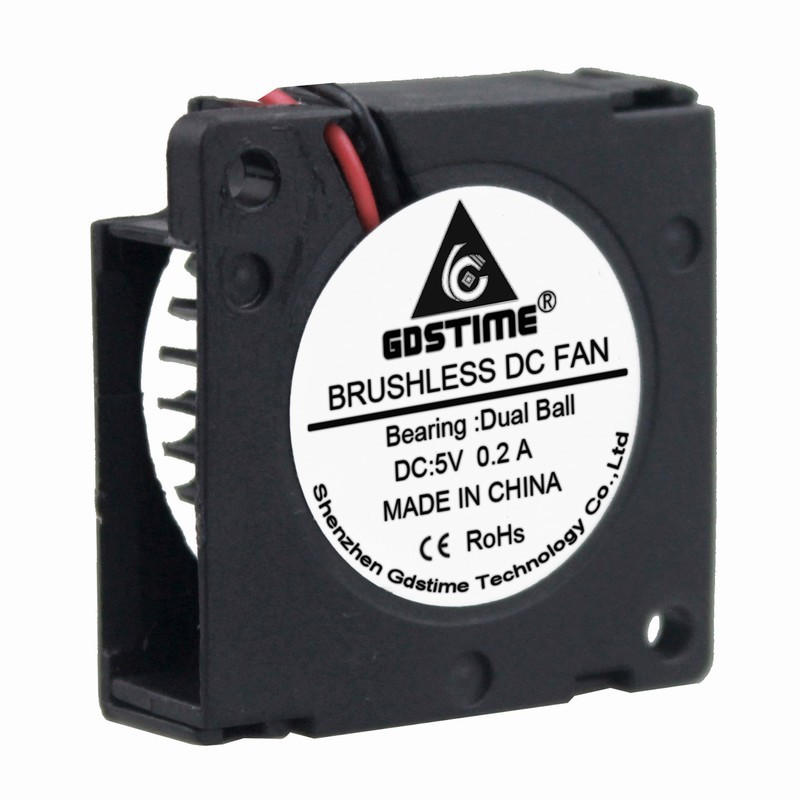1pc Brushless DC Cooling Fan 5 Blade 12V 3010 30mmx30mmx10mm 2pin New