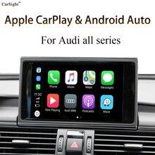 Car Screen Mirroring Interface Android Auto Retrofit Apple Carplay Solution for AUDI MMI MIB A1 Q2 A3 Q3 A4 A5 Q5 A6 Q7 A7 A8