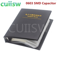SMD Capacitor Assortment-Kit Pack 0603 Sample Book-90valuesx50pcs--4500pcs