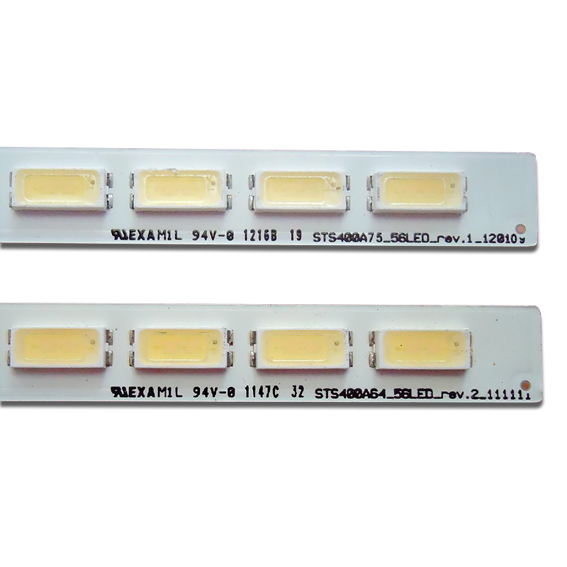 led רצועת lj64 1 חתיכה 40-שמאל LJ64-03501A LED רצועת 493MM STS400A75_56LED_REV.1 STS400A64_56LED_REV.2 56LED (3)