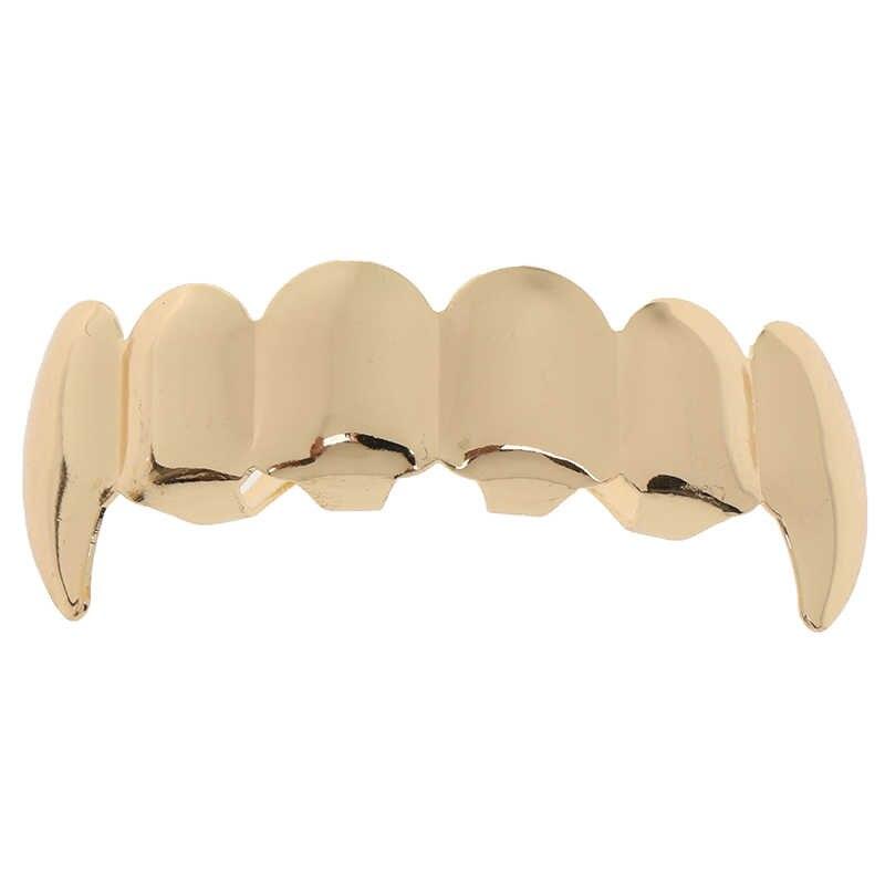 Хит, косплей, вечерние украшения для зуба, реппер, подарок, красочные хип-хоп золотые зубы, Grillz, верхние и нижние грили, зубные зубы, колпачки
