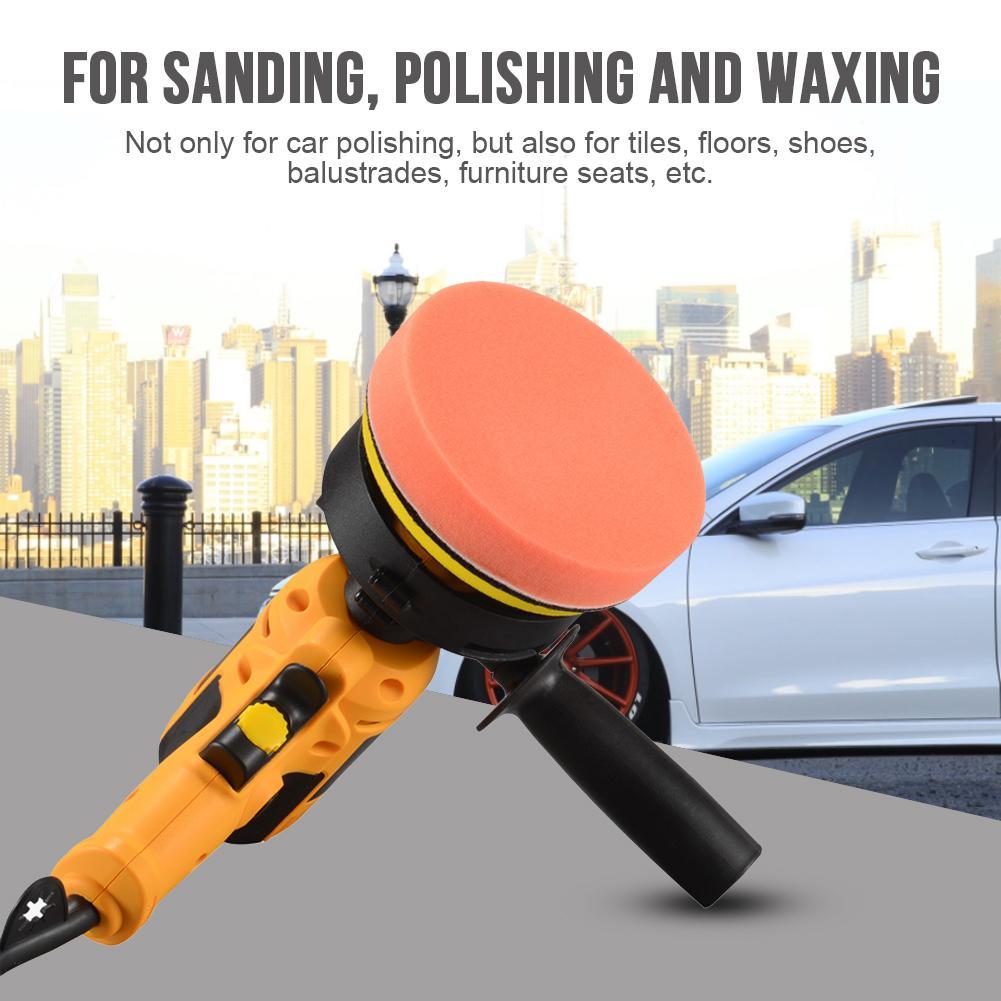 Car Electric Polisher Machine Auto Polishing Machine Adjustable Speed Sanding Waxing Tools Car Accessories Power Tools