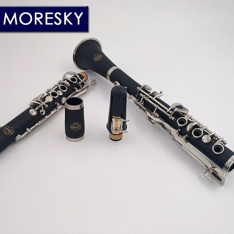 MORESKY allemand G Tune 20 clé clarinette ABS résine garçon matériel Nickel plaqué clés - 5