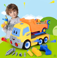 Children Educational Toys Disassembly Truck Kids Electric Screwdriver Assembled Blocks Sets Assembly Car Model Building Kits
