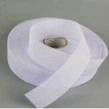 W = 3 см одна сторона жесткий белый прокладочная ткань для платья талии костюм аксессуары для брюк лоскутное шитье DIY
