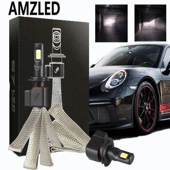 AMZLED LED H7 H4 9005 H11 S7 Car Headlight Bulbs H8 H9 HB1 H1 HB3 9006 9007 880 H27 12V 55W 6000K 12000LM Lamp Auto Bulb Light led car headlight bulb h4 h7 led h11 h1 h27 9005 9007 12v 50w 12000lm led auto lamp for skoda octavia citigo rapid fabia superb