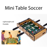 Hobbies Collection Football Game Table Football Children Wood Color Decorate Indoor Football Game Table Football Table Kids