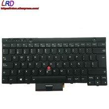 Novo es latin espanhol teclado retroiluminado para lenovo thinkpad x230 x230i x230t t430 t430i t430s t530 t530i w530 portátil