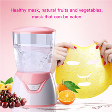 Automatic Face Mask Machine DIY Fruit Natural Collagen Facial Masks Maker Therapy Face Mask Machine Beauty Facial SPA Skin Care цена и фото