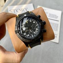 Luxury Brand New Super Avenger II 1884 Men Watch Canvas Leather Stainless Steel Automatic Mechanical Quartz Chronograph Watches