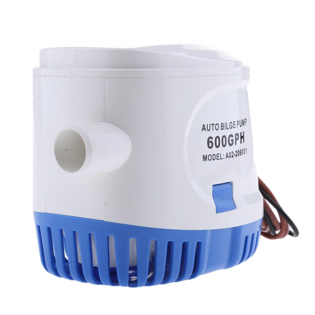 Pompe à eau Submersible automatique de cale de Yacht de 24V 600GPH automatique avec le commutateur de flotteur - 2