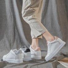Женские кроссовки на платформе белые массивном каблуке модная