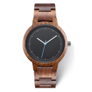 Image 1 - 2020 Private Label Fashion Eco friendly Custom Logo Luxury Black Copper Dial Woman Wood Walnut Watch for Lady
