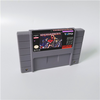 النينجا ووريورز عمل بطاقة الألعاب النسخة الأمريكية اللغة الإنجليزية