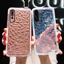 Silicone 3D Diamond Case For Huawei