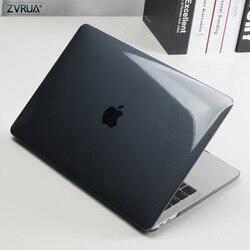 Кристально прозрачный чехол для MacBook Air Pro Retina 11 12 13 15 16 2019 mac book 13,3 A1706 A2159 15,4 дюймов новая сенсорная панель A1990