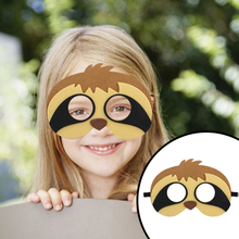 15pcs Safari Jungle Animal Felt Masks Cosplay Mask Festival Party Accessories Birthday Kids Costume Dress-Up Supplies
