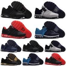 Max 2017 hombres Zapatos de diseñador de marca de alta calidad zapatillas de deporte KPU blanco negro Zapatillas Zapatos deportivos al aire libre Tamaño 7-13