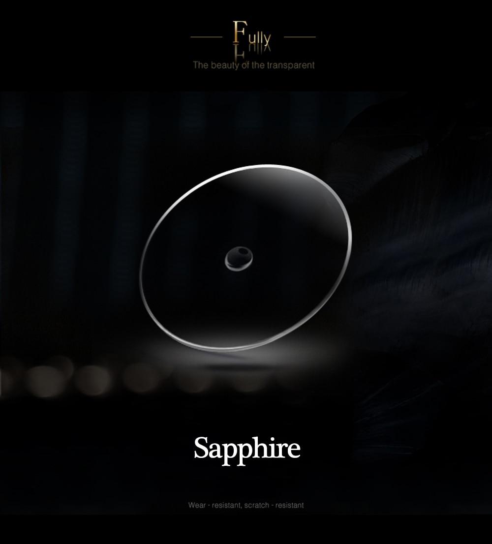 2019 Real Tourbillon Mechanical Hand Wind Sapphire Mens Watches Top Brand Luxury Rhinestone Clock men Gold Relogio Masculino 12