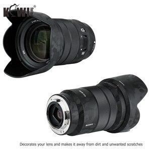 Image 4 - Shadow cubierta de lente y parasol antiarañazos, película de piel adhesiva para Sony E PZ 18 105mm F4 G OSS SELP18105G Lens & ALC SH128