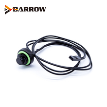 BARROW G1/4 10K Black Silver temperature water stop sealing plug water cooling PC Application Accessories Water TCWD-V1 fitting barrow white black silver g1 4 special edition black hand tighten water stop water cooling fitting tds 01