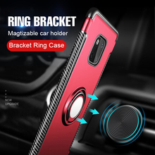 Luxury Metal Car Holder Ring Case On The For Huawei Mate 20 Pro 10 Lite Phone Case For Huawei Mate 10 20 Lite Shockproof Case huawei mate 20 lite case huawei mate20 lite case transparent soft case for huawei mate 20 lite sne lx1 silicone phone case 6 3