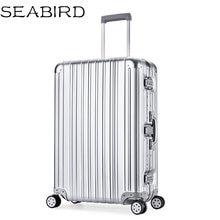Seabird роскошный алюминиевый сплав магния чемодан на колесиках