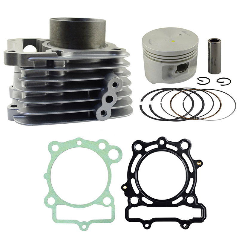 Bore 57mm Motorcycle Cylinder REBUILD Kit For SUZUKI GZ125 GZ 125 Air Cylinder Block & Piston Kit & Head Gasket Kit title=