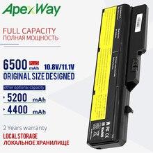 ApexWay 11.1v Batteria Del Computer Portatile Per Lenovo L09M6Y02 L10M6F21 L09L6Y02 L09S6Y02 G570 G575 G770 Z460 G460 G465 G470 G475 G560 g565