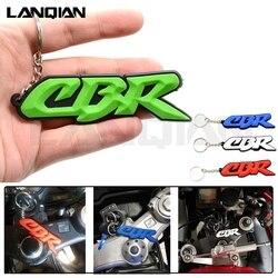 Для Honda CBR аксессуары для мотоциклов 3D гоночный мягкий резиновый брелок для ключей для мотоцикла CBR 600 f4i 919 954 1000 rr 1100 RR 650F