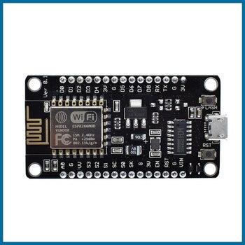 цена на S ROBOT Wireless module NodeMcu v3 CH340 Lua WIFI Internet of Things development board ESP8266 with pcb Antenna for Arduino EC1