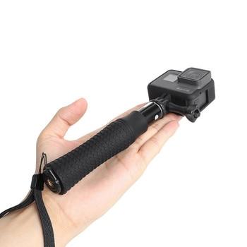 Extendable Waterproof Selfie Stick Monopod Hand Grip Tripod Holder for GoPro Hero 8 7 6 5 SJCAM Yi 4K Action Camera Accessories
