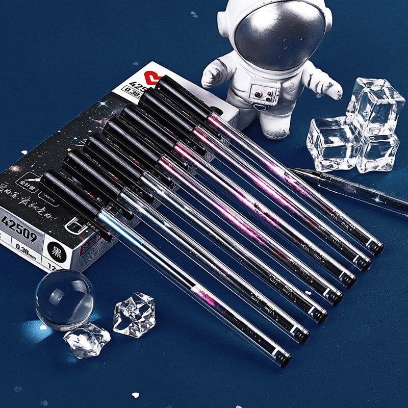 3 Pcs/lot 0.5mm Falling Starry Stars Gel Pen Ink Pen Promotional Gift Stationery School & Office Supply
